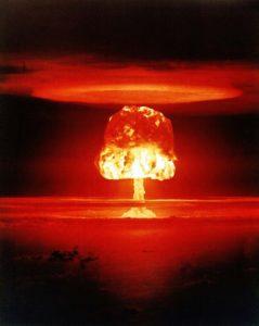 Im Strafrecht gibt es auch seltenere Delikte - die Herbeiführung einer Atomexplosion gehört glücklicherweise dazu.